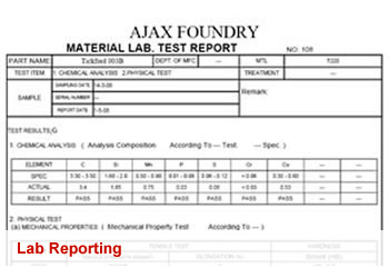 Lab Reporting